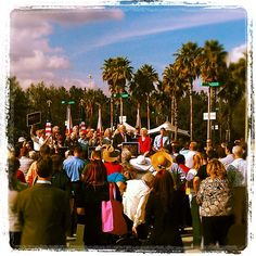 Campaigning in Florida this week. First stop today in Tampa Bay ....
