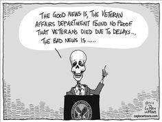 Political Cartoons by Larry Wright - VA