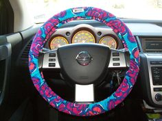 Designer Inspired Steering Wheel Cover...a LILLY PULITZER steering wheel cover?