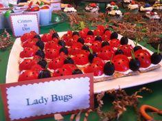 Lady Bug Appetizer