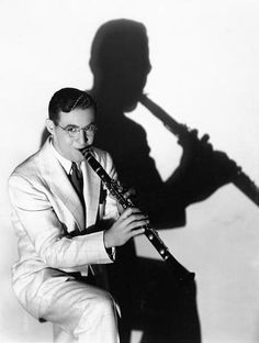 Benny Goodman! It'd be cool if I could get that shadow effect