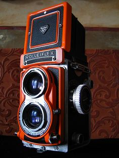 Rolleiflex 3.5T in red