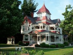 Victorian House in Bellaire, Michigan.