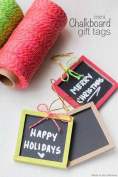 Mini Chalkboard Gift