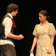 Students in the senior level Writer's Craft and Dramatics Arts courses joined together to present the annual Tales from the Script festival on Thursday, May 3rd, in the Dick and Jane LeVan Theatre.