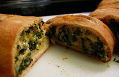Spinach Cheese Bread~