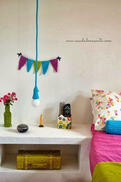 decoracao com croche