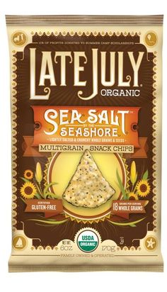 Late July Sea Salt By the Seashore Chips