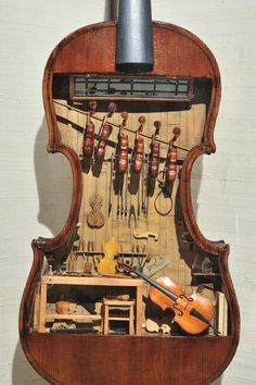 A Tiny Violin Shop I