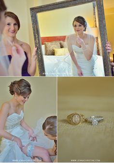 Getting Ready Pictures  |  www.jennachristine.com/weddings