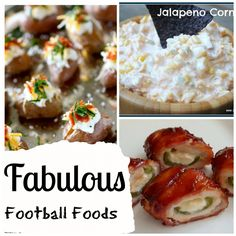 Football Party Food ideas and recipes