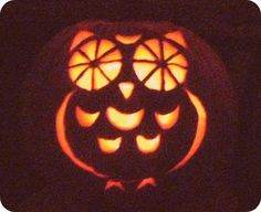 pumpkins, pumpkin carvings, diy, owl pumpkin, owls, thing, halloween