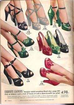 Vintage Shoe ...Aldens' Fall 1949