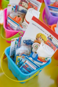 Lego Birthday Party via Kara's Party Ideas | KarasPartyIdeas.com #lego #toy #birthday #party #ideas