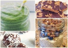 Protein packed treats! :)