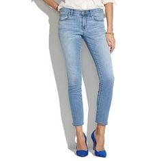 madewell | skinny skinny crop jeans