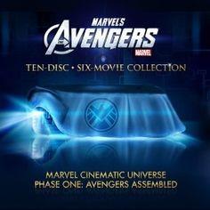 Avengers Marvel Movie Blu-ray