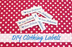 DIY labels