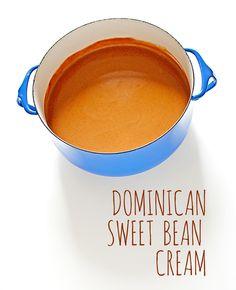 #Dominican Sweet Bean Cream. Find #recipe here: http://carrolluna.com/post/45915768103/sweet-bean-cream #dessert #latin