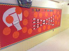 March Bulletin Board - March Math Madness