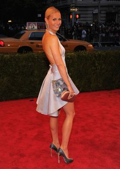 Gwyneth Paltrow at the 2012 Costume Institute Gala #fashion #celebrities