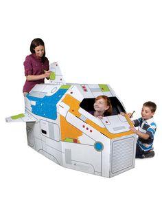Discovery Kids Cardboard Rocketship
