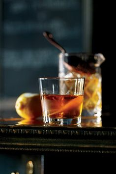 How to Make a Diamondback No.5 by Garden & Gun Magazine on DrinkWire - rye, apple brandy, yellow Chartreuse, Art in the Age's Root liqueur