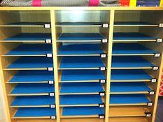 classroom idea, grade tidbit, school, teacher stuff, binder clips, educ, sticki label, mailbox, classroom organ