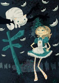 Alice and the Cheshire