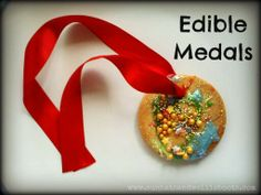 Edible Medals. Make your own edible Olympic medal, or a special medal for your hero!