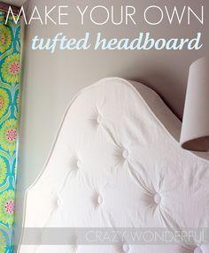 tufted headboard