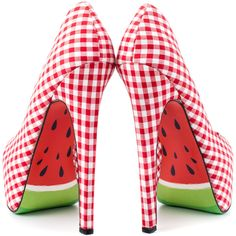 Red Checks & WaterMelons ~