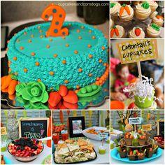 Peter Rabbit Picnic Birthday Party