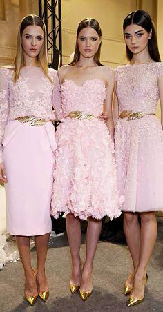 Wedding Bridesmaid Dresses ● Zuhair Murad SS 2014