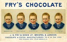 artists, chocolates, creepi vintag, famili, vintag advertis, frys chocol, kids, vintage ads, chocolat vintag