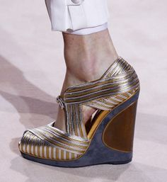 Yves Saint Laurent Wedges Fall 2011 #YSL #Shoes