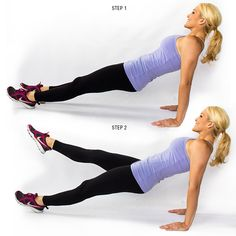 Want to get back into your skinny jeans? Try out this workout!
