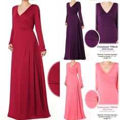 The perfect dress for a Melisandre costume. The night is dark and full of terrors