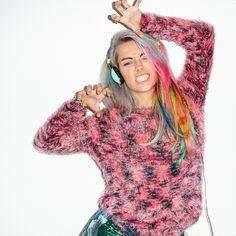 Chloe Norgaard for Skullcandy Women is a rainbow rock dream