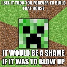 Minecraft Creeper!