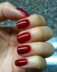 ❣ Manicure: Gelish (Color - Stand Out)❣