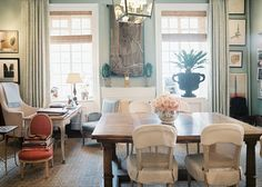 charlotte moss/ lonny - traditional dining room