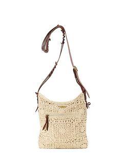 Avalon Lace Medium Crossbody Bag*