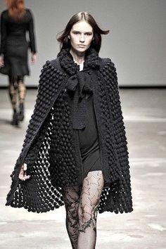 #cape  crochet jacket #2dayslook #crochetfashionjacket   www.2dayslook.com