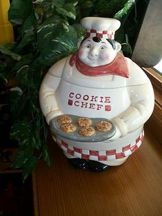 Fat Chef Cookie Jar