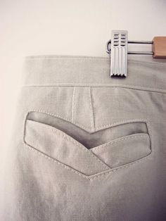 Beautiful pocket tutorial #sewing #skirt
