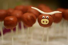 Bevo cake balls!