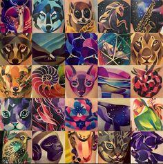 Amazing Russian Tattoo Artist - Instagram - sashaunisex