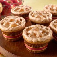 Caramel Apple Pie Cupcakes!