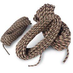tie, camo rope